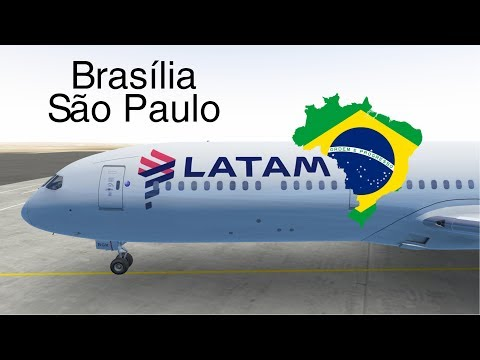 [STREAM] Infinite Flight GLOBAL: Brasília (BSB) To Sao Paulo (GRU) | LATAM | Boeing 787
