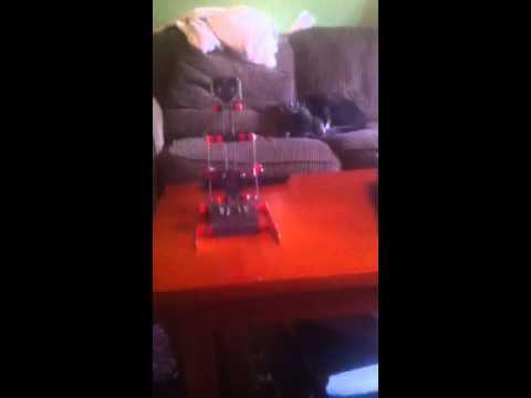 Erector set catapult
