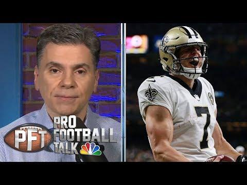 Taysom Hill's future with Saints dependent on Drew Brees | Pro Football Talk | NBC Sports
