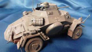 Tamiya Sd.Kfz. 222 in 1/35 scale