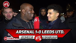 Arsenal 1-0 Leeds United | Arteta Relates To The Fans!