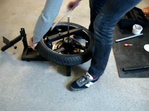 Lawn Mower Tire Bead Breaker How To Change A Lawn Mower