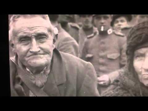 1914 Augustus - Film over de Belgische vluchtelingen die de grens over komen en opgevangen worden