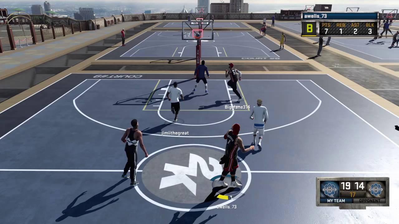 NBA 2K16_20160728001956 - YouTube  Nba 2k14 Graphics Comparison