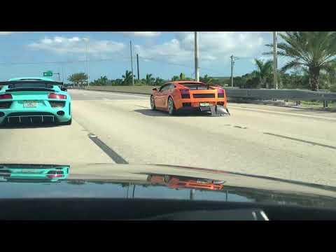 Lamborghini Needs Expensive Repair! Carbon Fiber Diffuser Broke!