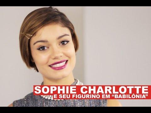 Sophie Charlotte comenta seu figurino em