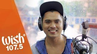 "Jex De Castro sings ""Sa Piling Ko"" LIVE on Wish 107.5 Bus"