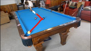How to Make Carom/Billiard Shots 99% of the Time