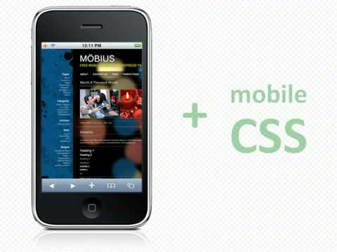 Möbius - free mobile optimized WordPress theme - YouTube