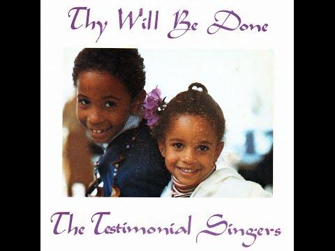 """I'm Gonna Reach My Goal"" (1975) Testimonial Singers (The Winans)"