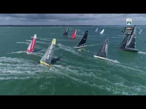 Rolex Fastnet Race 2017 - IRC Zero & VO65 Start