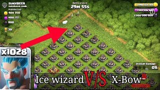 1000 Ice wizard v/s unlimited x-bow #coc #supercell #private server #RG Advise