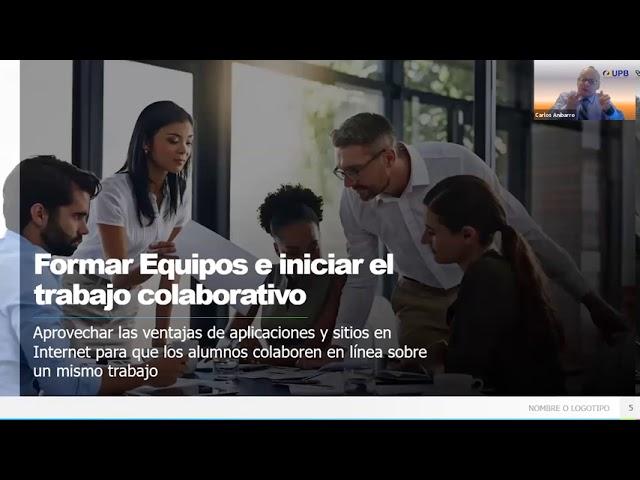 Promoviendo el trabajo colaborativo entre estudiantes.