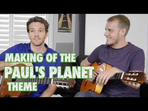 Behind the Scenes of the Paul's Planet Theme
