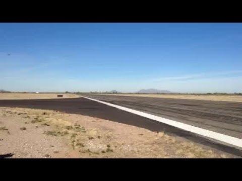 RAW VIDEO: Lockheed Vega takes off