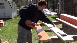 Vegetable Garden Building Wooden Planters