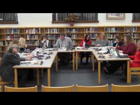 December 19th, 2016 Holland Board of Education Meeting