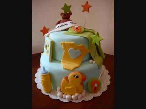 Baby Shower Cakes Edison Nj ~ Baby shower cake youtube