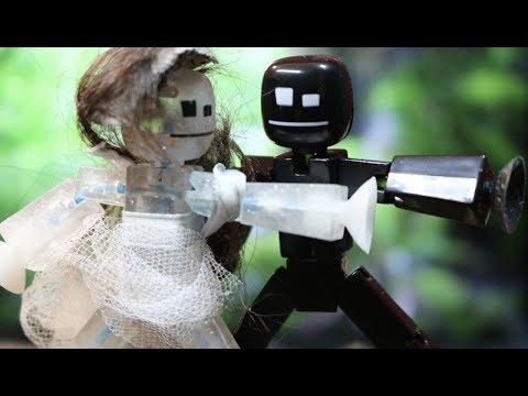 Robot Dancing; Stop Motion Parody of Dirty Dancing
