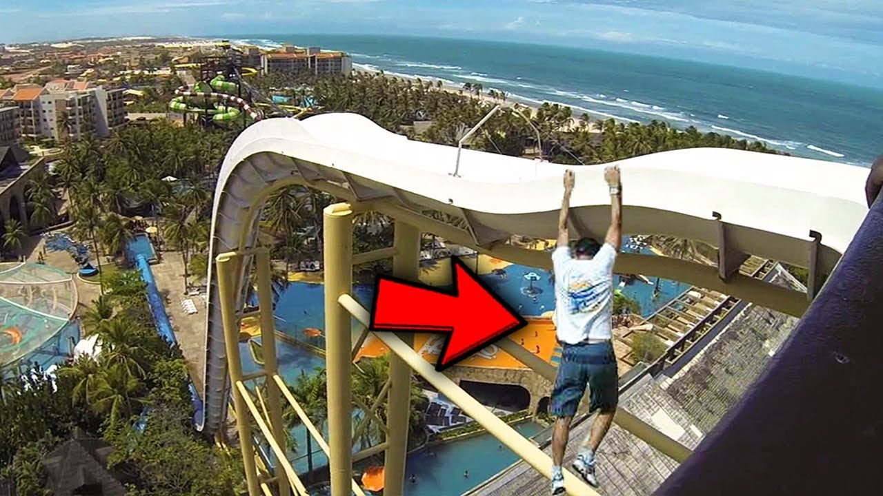 5 People Who Fell Off Waterslides