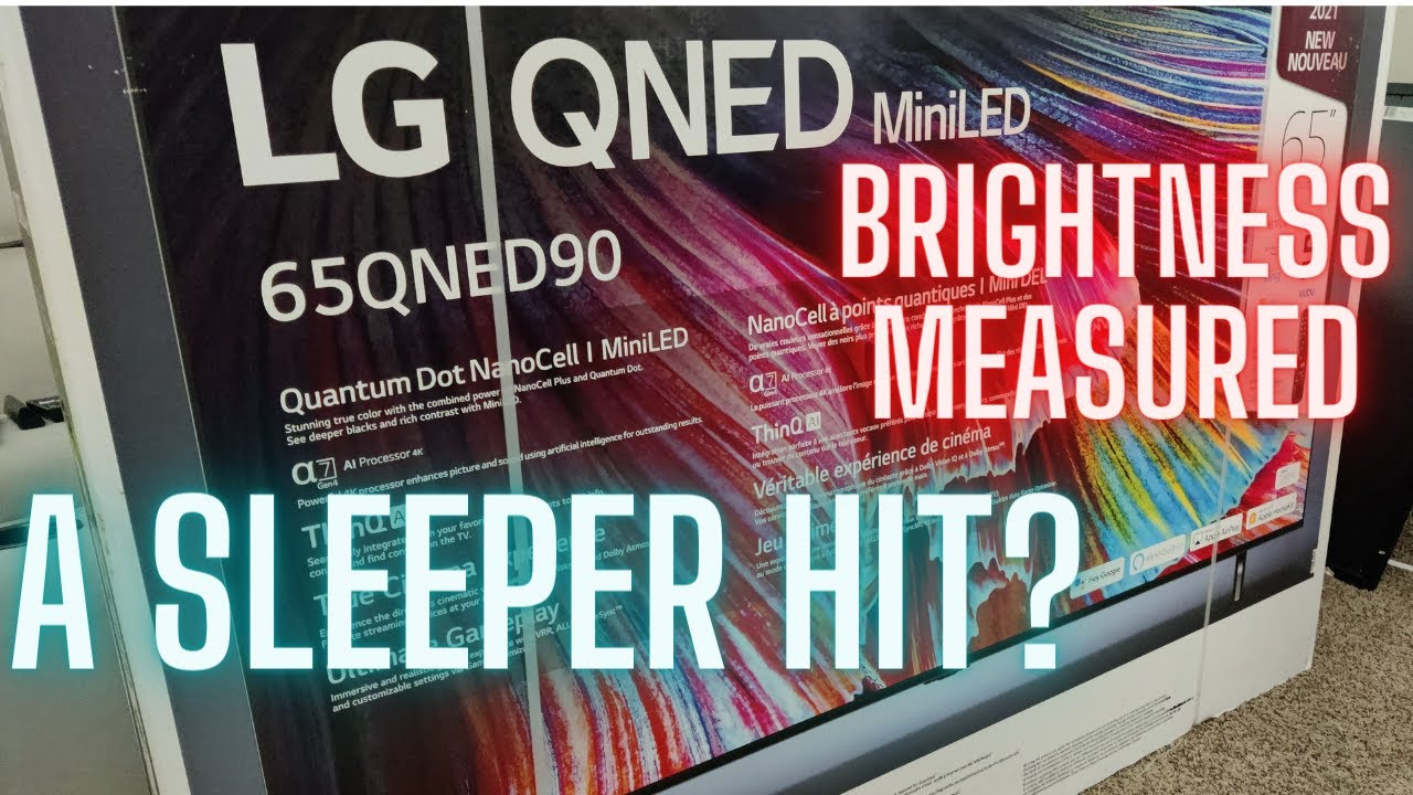 LG QNED 90 Mini LED 4K Unboxing, Initial Setup and Impressions, Plus Some Numbers