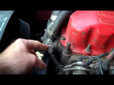 Jeep Wrangler - How To Test A Coolant Temperature Sensor.