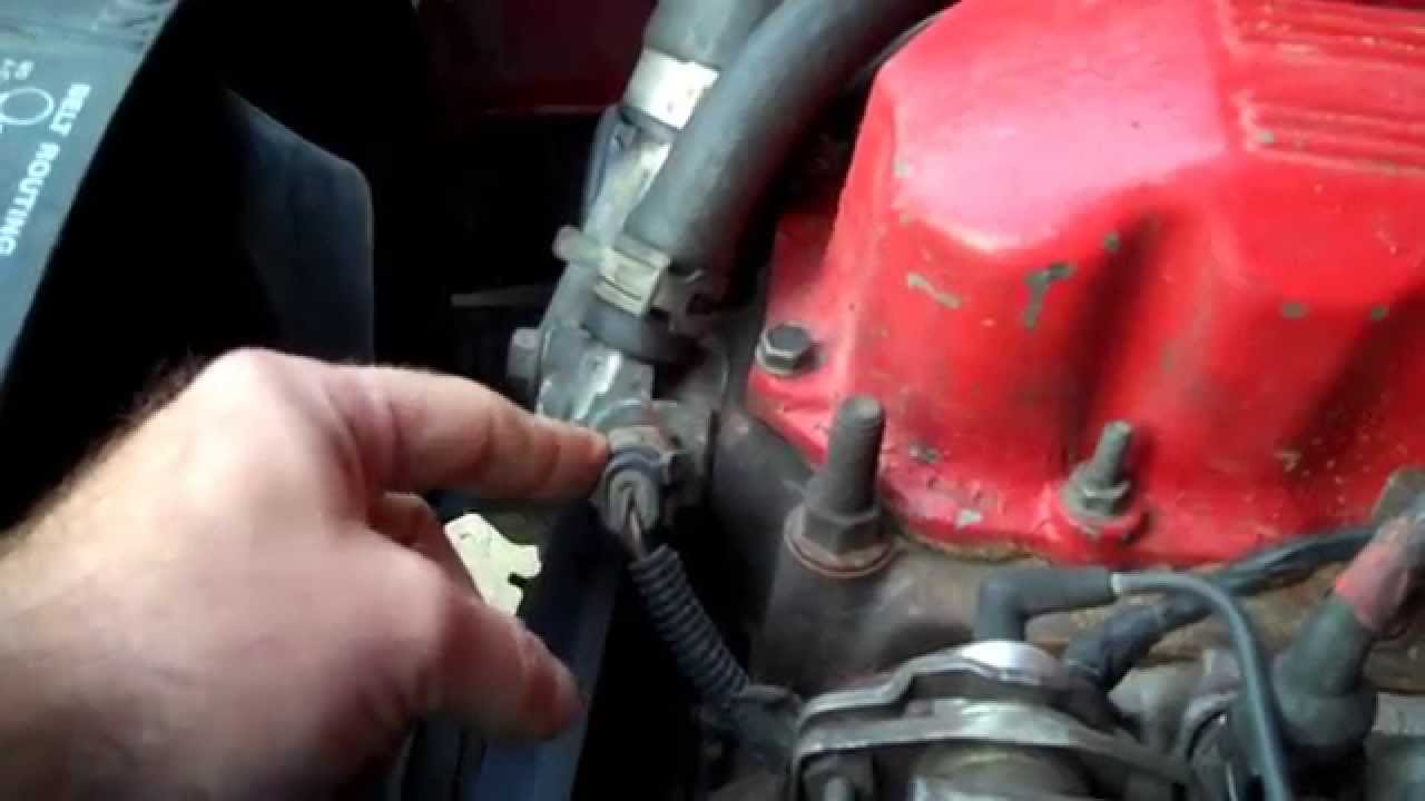 ford 302 coolant temperature sensor location  ford  free