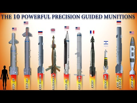 The 10 Most Powerful Precision Guided Munition Bombs of 2021