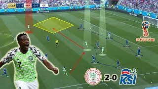 Ahmed Musa's Brace Saved The Day | Nigeria vs Iceland 2-0 | Tactical Analysis | World Cup 2018