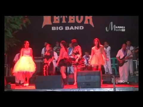 Live Music Meteor Big Band.all Artis Feat Dj.romy