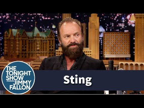 Sting and Jimmy Have a Wine-Tasting Interview