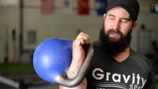 Kettlebell Clean from floor , GRIP and how to hold in RACK POSITION