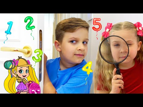 Diana and Roma Find Missing Numbers