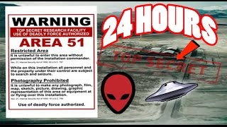 One of AldosWorld TV's most viewed videos: (ALMOST DIED) 24 HOUR OVERNIGHT in AREA 51 GONE WRONG | OVERNIGHT CHALLENGE in AREA 51 (GUARD CHASE)