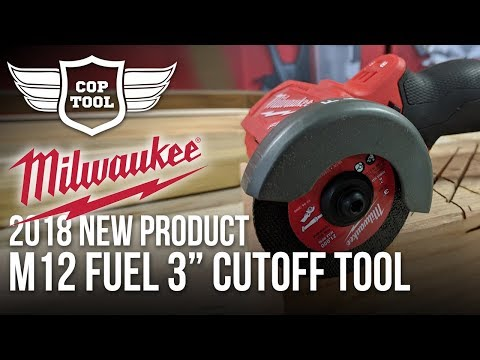 "Milwaukee M12 FUEL 3"" Cutoff Tool 2522-21 - Metal, Ceramic, Sheet Materials - NPS18 Presentation"