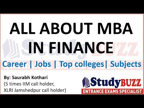 All about MBA in finance | Top colleges, career prospects, best jobs, syllabus
