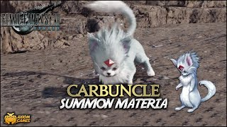 FF7 Remake - Carbuncle Summon Materia (Digital Deluxe)