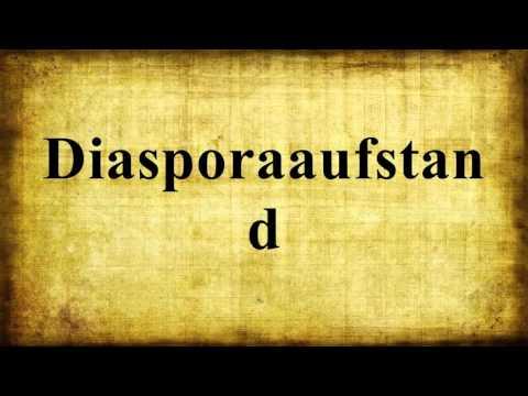 diasporaaufstand