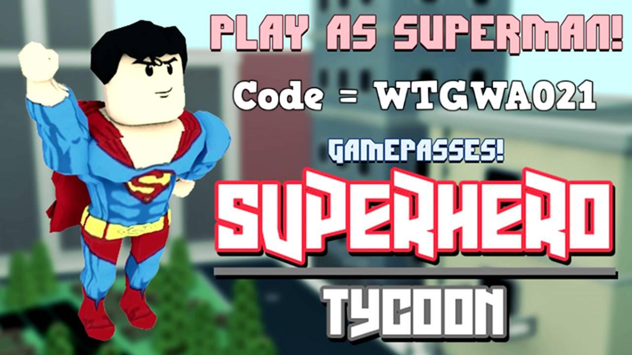super hero tycoon youtube