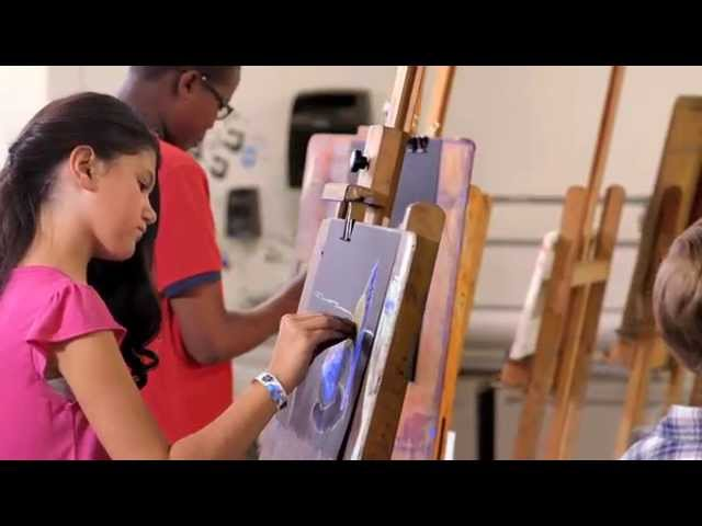 NSU Art Museum AutoNation Academy of Art + Design TV Commerical 2015
