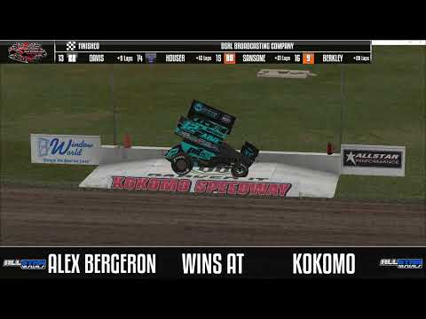Dirt Sprint Car Championship Series from Kokomo Speedway