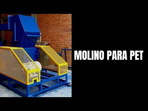 Molino para reciclaje de pl stico promaquiplast ltda - Maquina de reciclaje de plastico ...