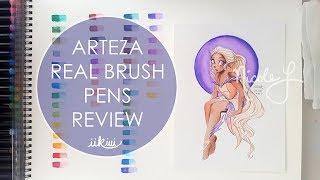 Art Review: Arteza Real Brush Pens | iiKiui