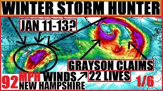 *WOW* WINTER Storm HUNTER to Follow GRAYSON SO much for a