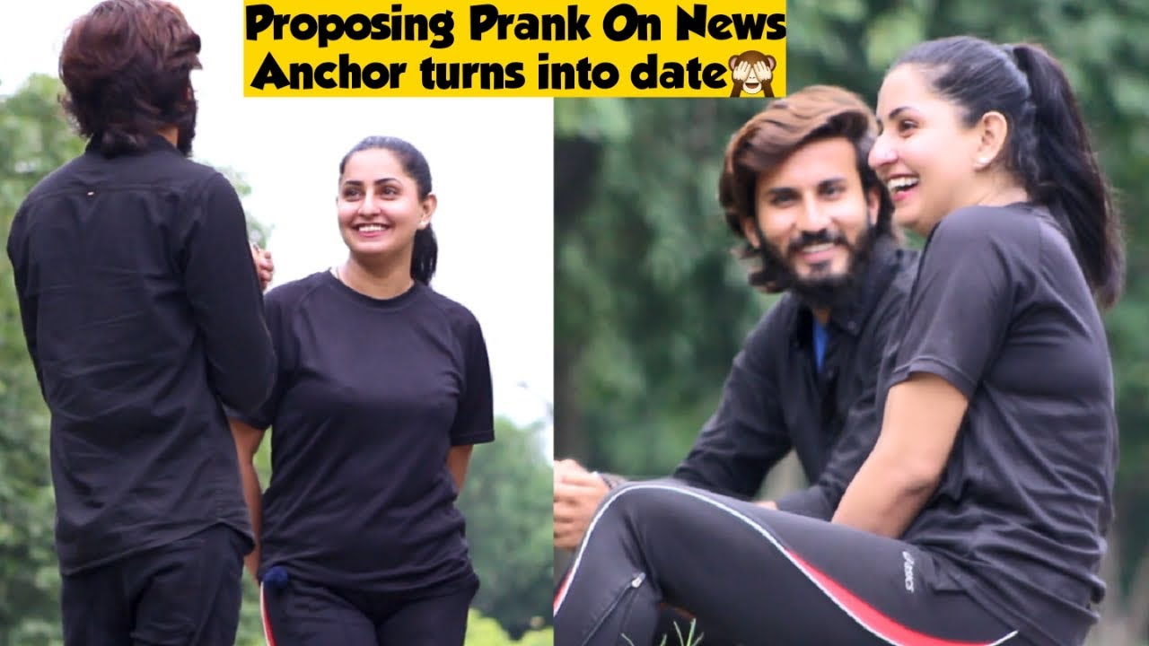 Proposing Prank On News Anchor Turns into Date (Part 1) | Prank in Pakistan | Adil Anwar