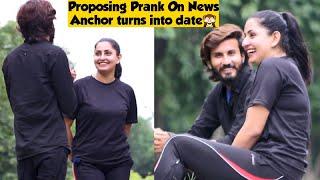 Proposing Prank On News Anchor Turns into Date (Part 1)   Prank in Pakistan   Adil Anwar
