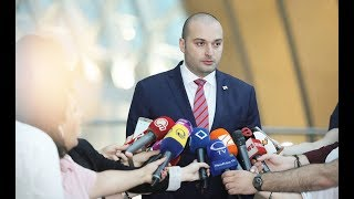 Премьер-министр Грузии подал в отставку. Премьер-министр Грузии Мамука Бахтадзе ушел в отставку