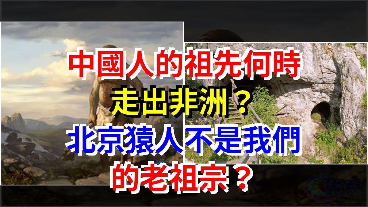 中國人的祖先何時走出非洲?北京猿人不是我們的老祖宗?,[科學探索]
