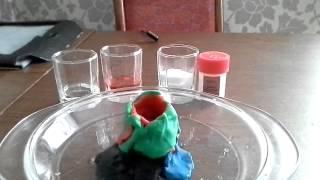 Обзор опытов из набора:Юный химик серия номер 2