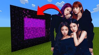 How To Make A Portal To The Blackpink Dimension in Minecraft!